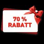 70%-Rabatt
