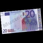 20 EUR Verrechnungsscheck