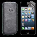 x Squeeze-it Handyschutzfolie und Tasche
