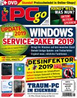 PCgo DVD Ausgabe: 1/2019