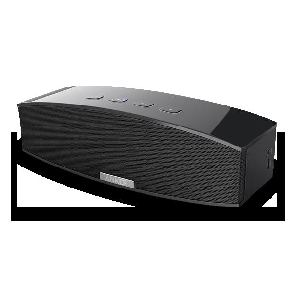 Anker Bluetooth-Lautsprecher A3143 mit Case.
