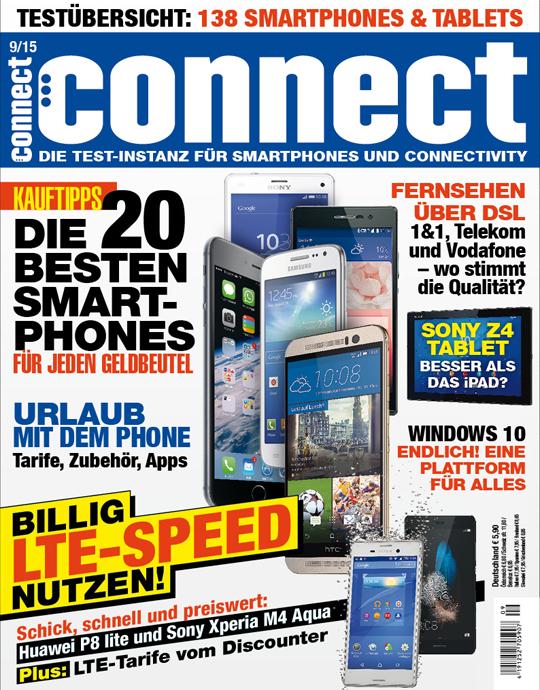 connect Ausgabe: 09/2015