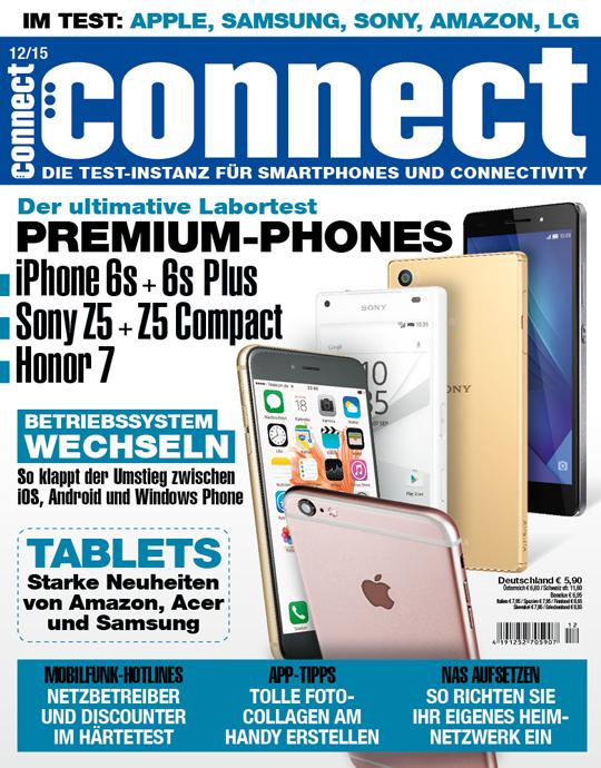connect Ausgabe: 12/2015
