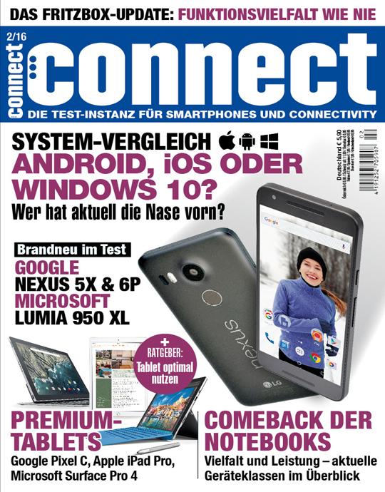 connect Ausgabe: 02/2016