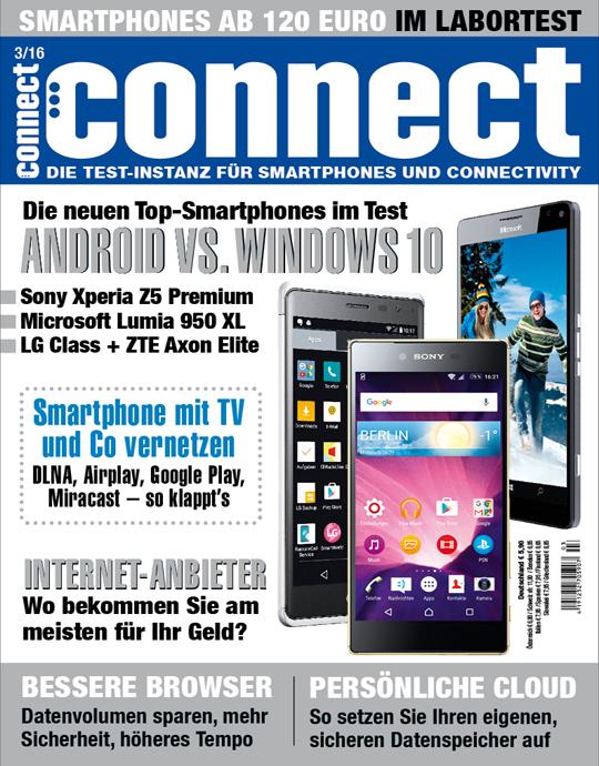 connect Ausgabe: 03/2016