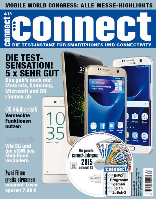connect Ausgabe: 04/2016