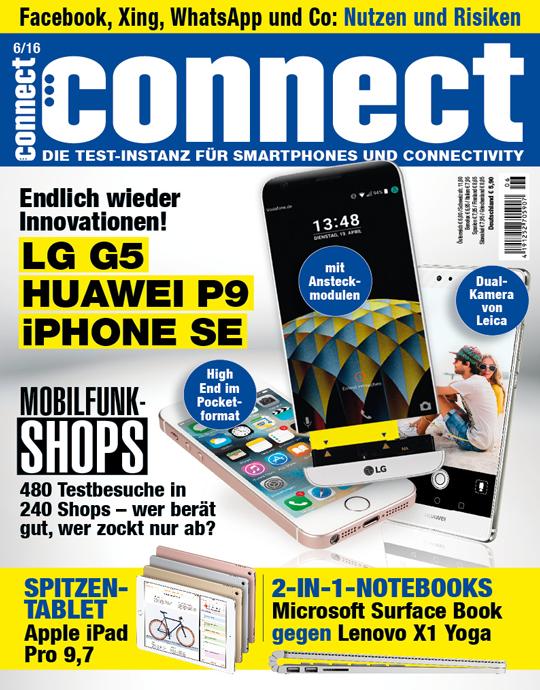 connect Ausgabe: 06/2016