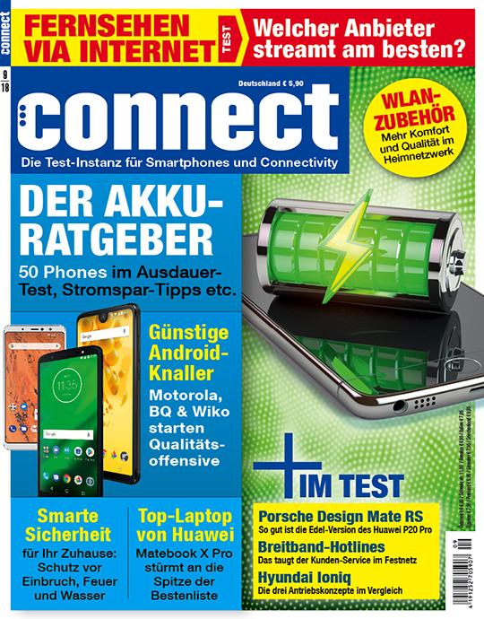 connect Ausgabe: 9/2018