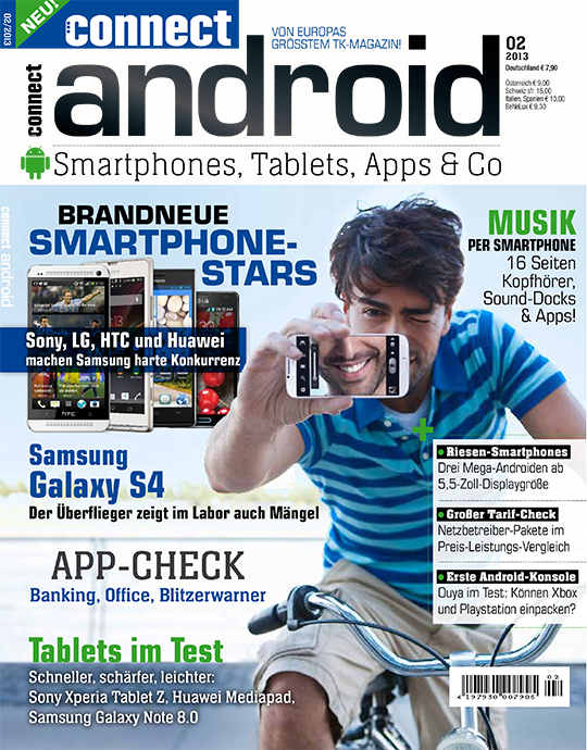 connect android Ausgabe: 02/2013