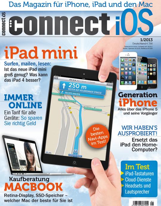 connect iOS Ausgabe: 01/2013