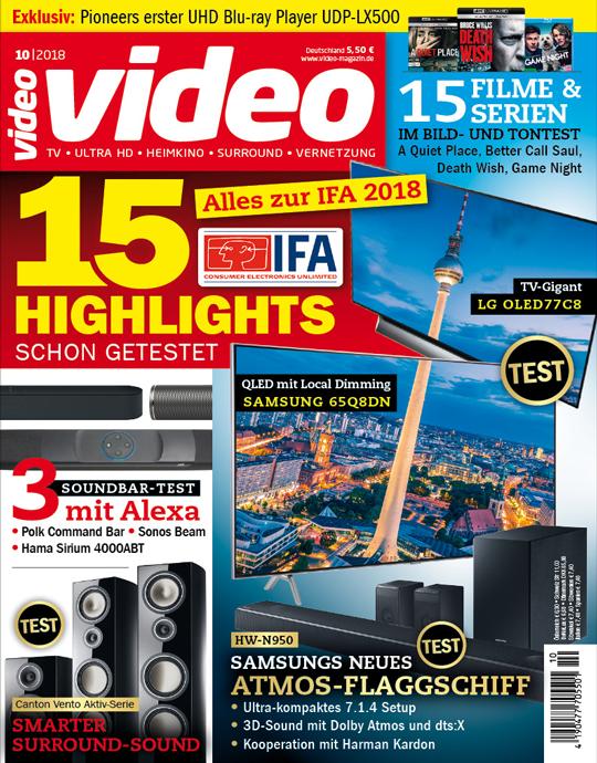 Video Ausgabe: 10/2018